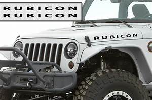rubicon stickers gallery With rubicon lettering