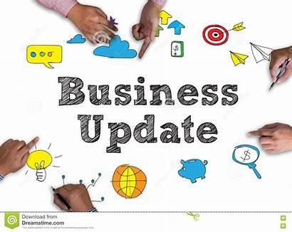Update Business Background Frame Blackboard Wooden