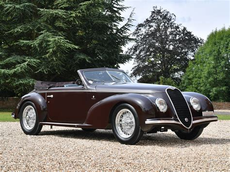 Alfa Romeo 6c 2500 by Rm Sotheby S 1939 Alfa Romeo 6c 2500 Sport Cabriolet By