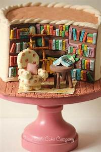 Awesome Library Themed Cakes Cool Cake Ideas