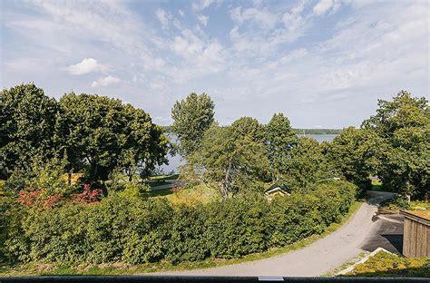 Villa On The Swedish Island Of Lidingo by Villa On Swedish Island Lidingo