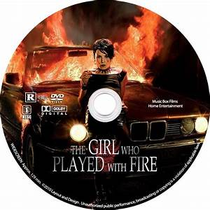 The Girl Who Played With Fire Custom label - Custom DVD ...