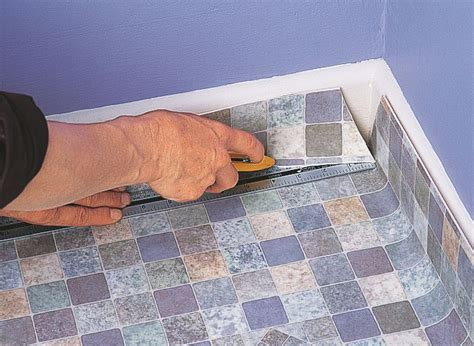 pictures of linoleum flooring how to lay sheet vinyl ideas advice diy at b q