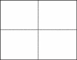 Paper Cd Sleeve Template 5 5 X 4 25 Blank Postcards Laser Inkjet Matte White 250