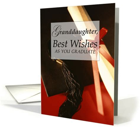 grand daughter graduation wishes card
