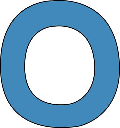 Alphabet Letter O Clip Art