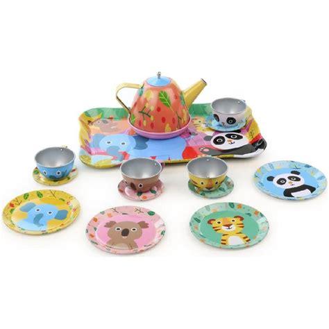 jeux de la jungle cuisine service à thé la jungle jouet vilac fille enfants