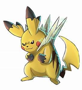Mega pikachu by abogato on DeviantArt