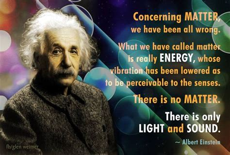albert einstein quote  matter
