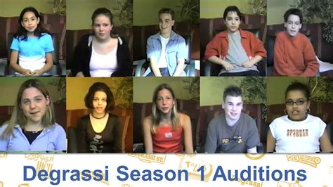 Degrassi: The Next Generation | Season 1 | Auditions - YouTube