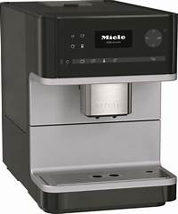 miele coffee maker CM 6110 BL | Miele Coffee Maker with Grinder, Black - Make Espresso Drinks with Ease