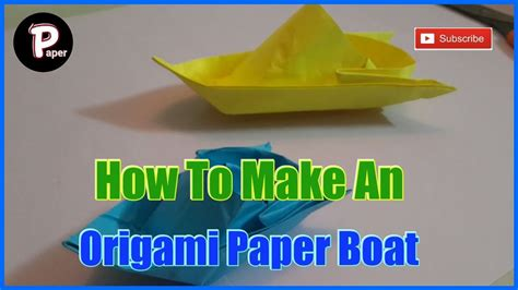 How To Make A Really Easy Paper Boat by How To Make A Simple Origami Boat That Floats Easy