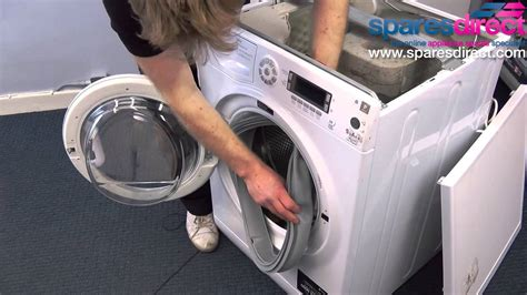 replace  washing machine door seal washing