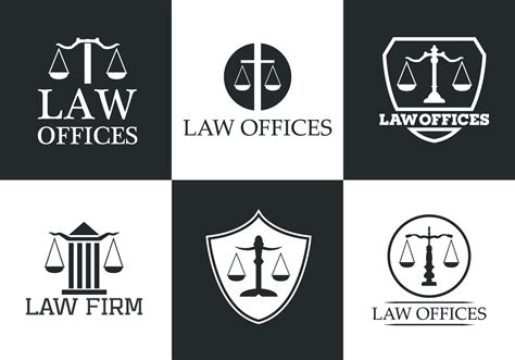 law office vector logo collection download free vector art stock graphics images