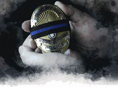 Officer Distress Badge Police Canham Matt