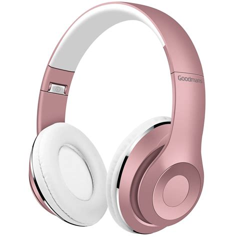 Goodmans Wireless Headphones - Rose Gold