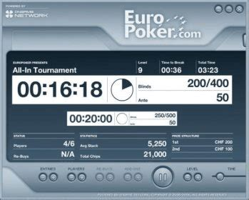 EuroPoker Tournament Director's Poker Clock Download ...