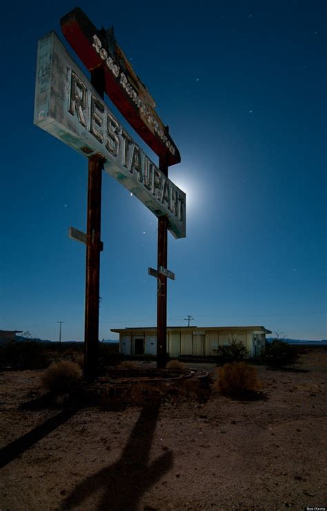 nighttime road trip  texas prettiest ghost towns