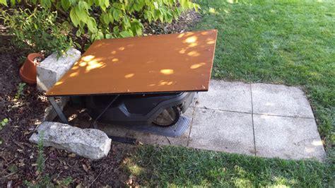 Rasenroboter Garage Aus Cortenstahl Ebay