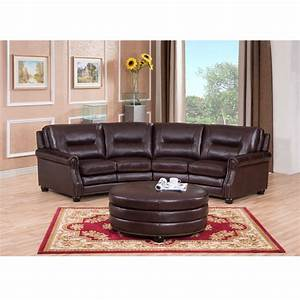 Sectional sofa design wonderful curved sectional sofa for Reclining sectional sofa with ottoman
