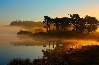 Nature Cool Wallpapers Fog Scenery Morning Scenic