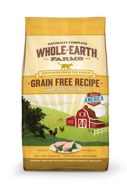Whole Earth Farms Grainfree Real Chicken Recipe Dry Cat
