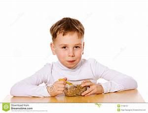 Boy Eating Royalty Free Stock Photography - Image: 17182757