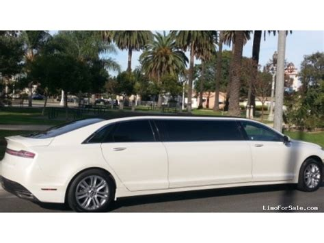 New Lincoln Limo by New 2014 Lincoln Mkz Sedan Stretch Limo American Limousine