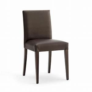 Sedia imbottita dalle linee moderne per sala conferenze for Sedie imbottite moderne
