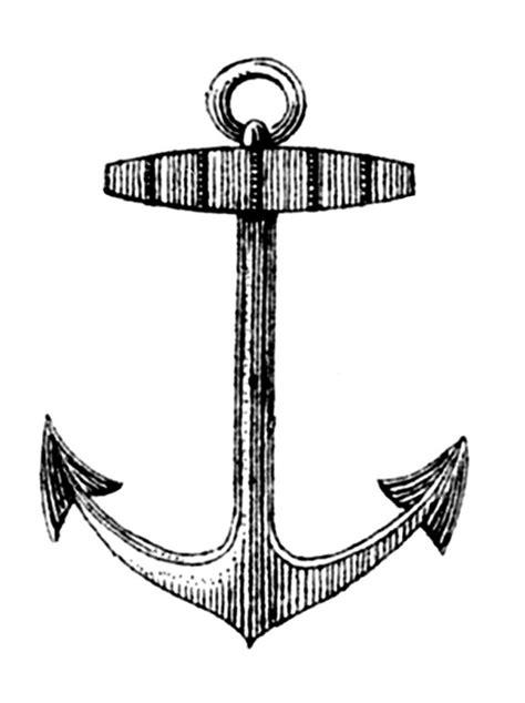Anchor Clip Vintage Clip Label Anchor Frame The
