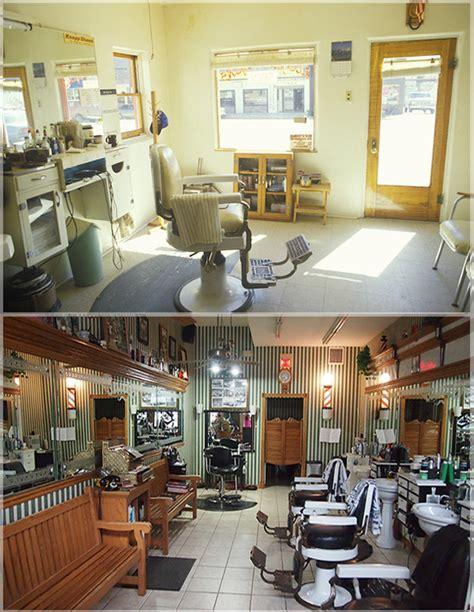 jasa desain interior barbershop pangkas rambut