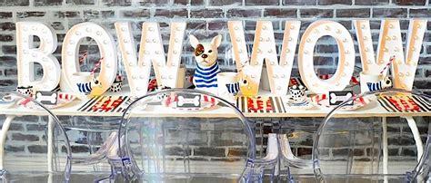 karas party ideas french bulldog friends dog themed