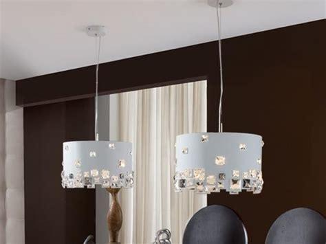 ideas de lamparas colgantes  el comedor