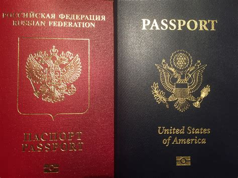 Russian American Passport Chip