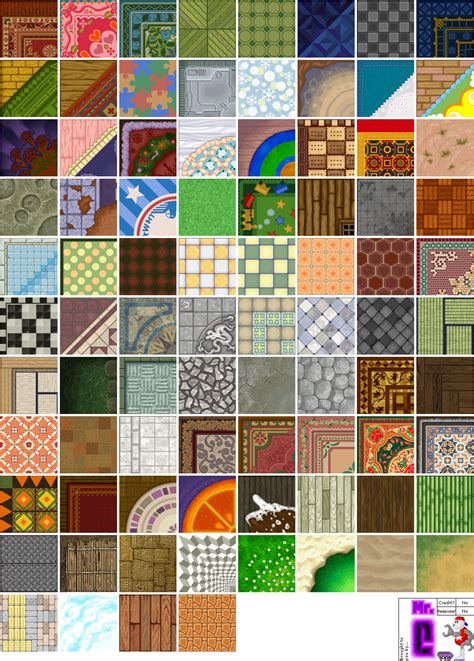 wii animal crossing city folk flooring  textures