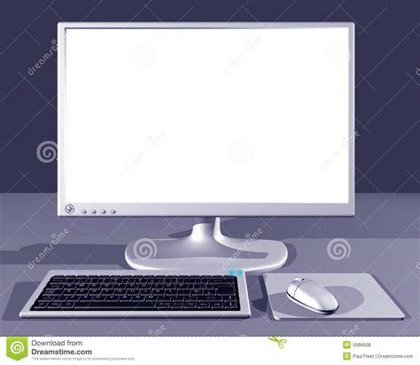 ordinateur de bureau avec ecran 404 not found