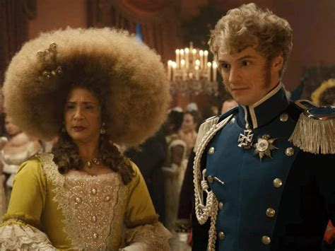 'Bridgerton's' Queen Charlotte says the huge afro wig she wore felt like it was 'burning' her ...