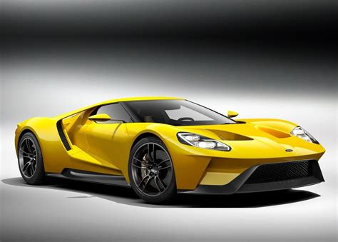 Ford Gt Supercar Returns Anew With A 600hp Twin-turbo V6