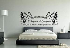 Latest music themed wall art ideas for bedroom home