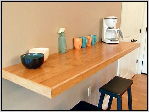 table cuisine murale 17 best ideas about wall mounted table on wall