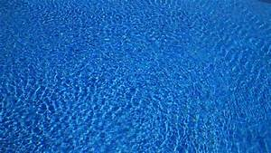 Water Ripples On Blue Tiled Swimming Pool Background. Top ...