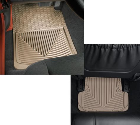 Quadratec All Weather Floor Mats by Weathertech W248tnw50t Weathertech 174 All Weather Front