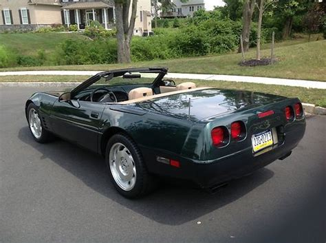 auto air conditioning service 1993 chevrolet corvette parking system find used 1993 chevrolet 40th anniversary corvette convertible 31k miles beautiful car in