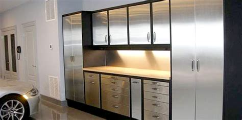 garage cabinet systems explore  custom metal  wood