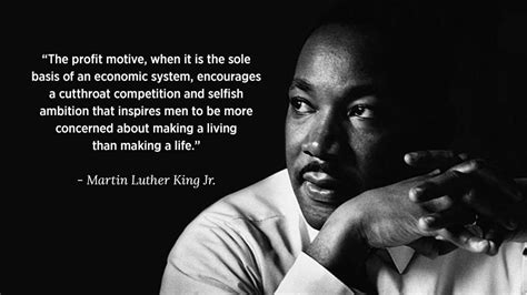 uncompromising anti capitalism  martin luther king jr