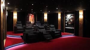 Cinema A La Maison : installer une salle de cin ma la maison construire soi m me sa salle de cin ma ~ Louise-bijoux.com Idées de Décoration