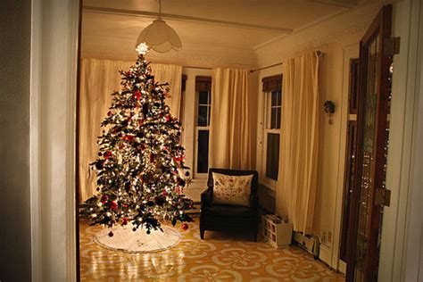 Christmas Tree In The Living Room Pictures, Photos, And