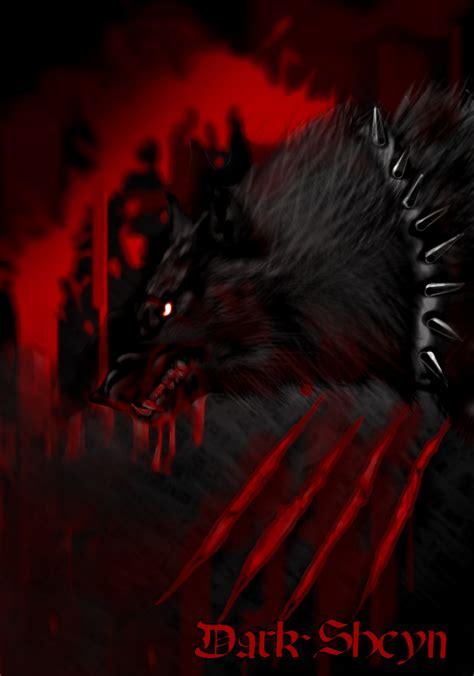 Alpha Wolf Blood Moon Wolf Wallpaper by Blood Wolf By Sheyn On Deviantart