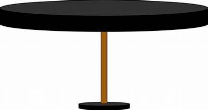 Table Round Clipart Desk Transparent Oval Clip