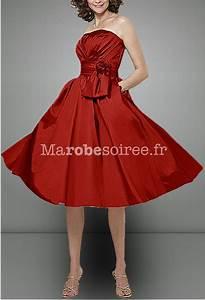 Robe Retro Année 50 : robe de soir e iman en taffetas style ann es 50 sur mesure ~ Nature-et-papiers.com Idées de Décoration